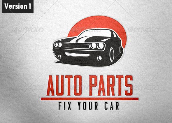 Car Parts Logo Template