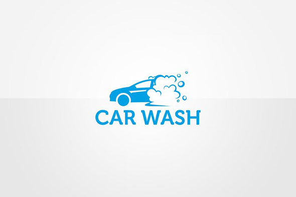 Car Wash Logo Template