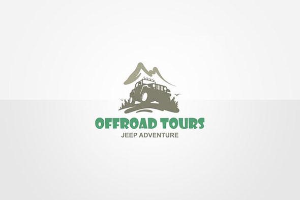 Jeep Adventure Logo Template