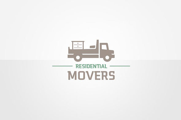 Moving Services Logo Template