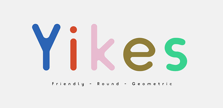 40 Interesting Rounded Fonts