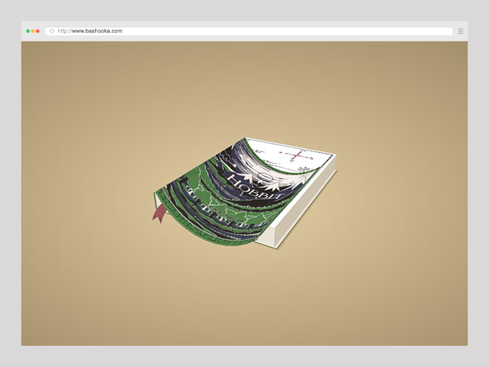 CSS 3D Bending Effect - Page Flip