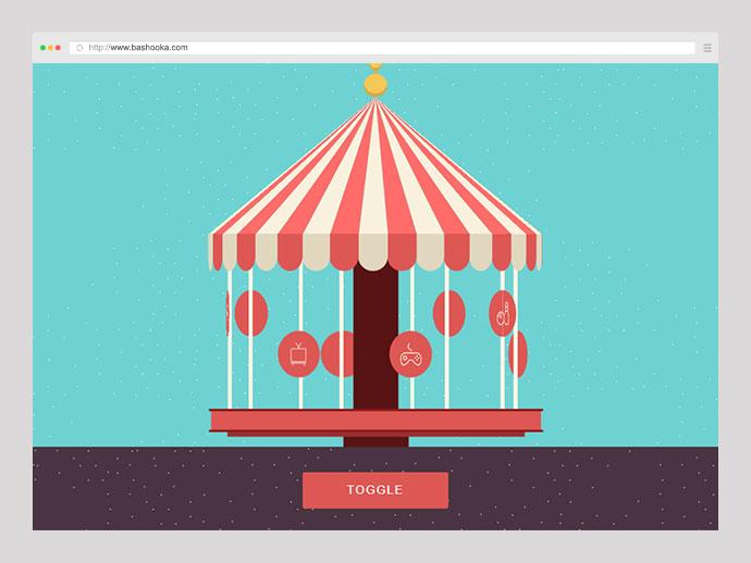 CSS+SVG Carousel