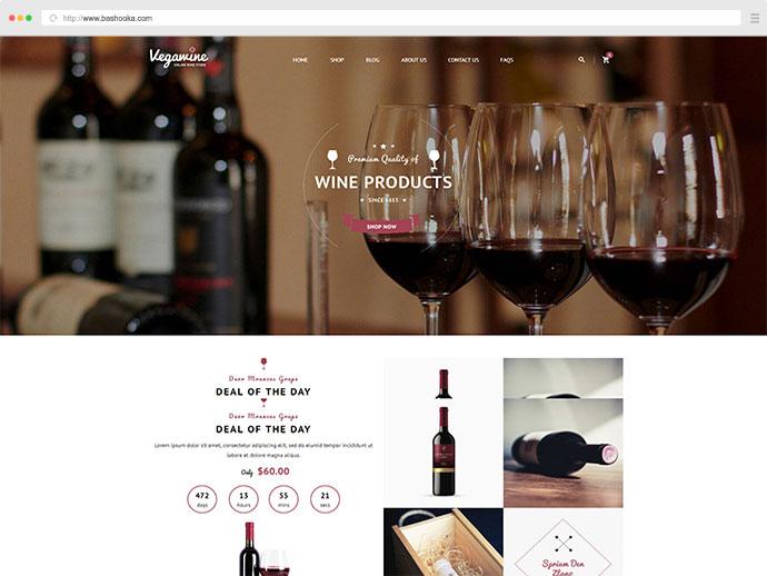 VG VegaWine - Wine, Winery and Vineyard WooCommerce Theme