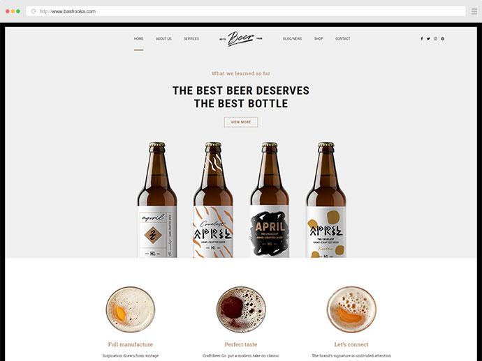 Craft Beer - Brewery or Pub WordPress Theme
