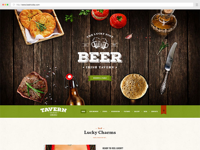 Tavern | Pub, Restaurant & Brewery WordPress Theme