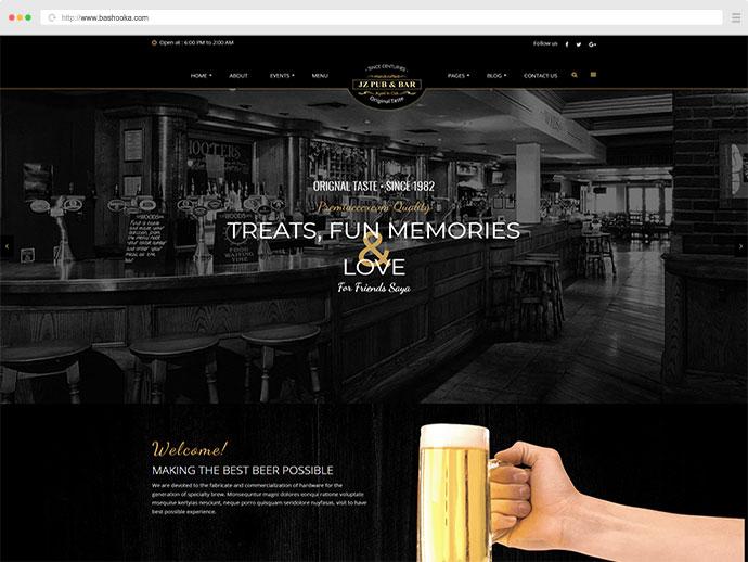 Jz Pub & Bar WordPress Theme