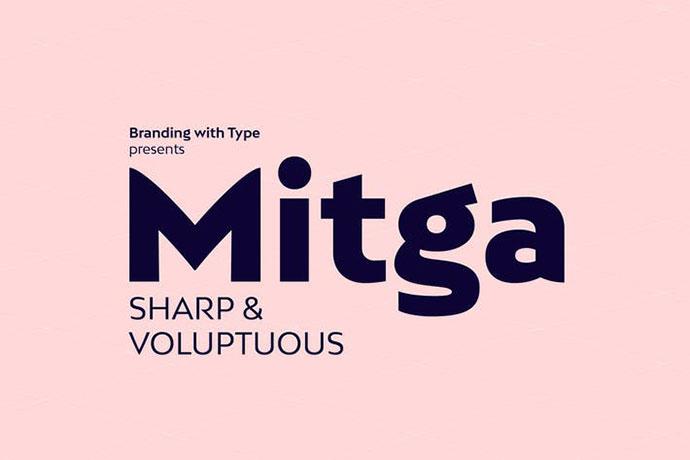 Bw Mitga font family