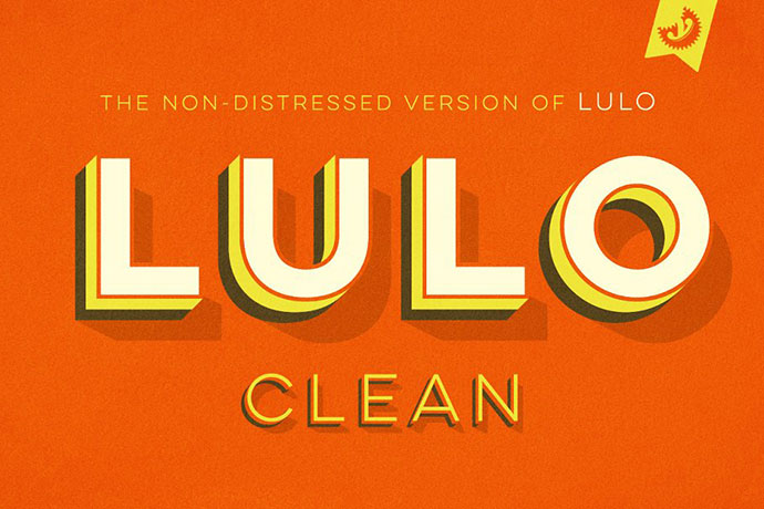 Lulo Clean Fonts