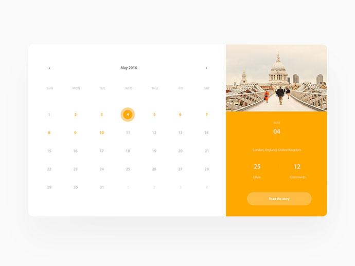 Trips On Calendar