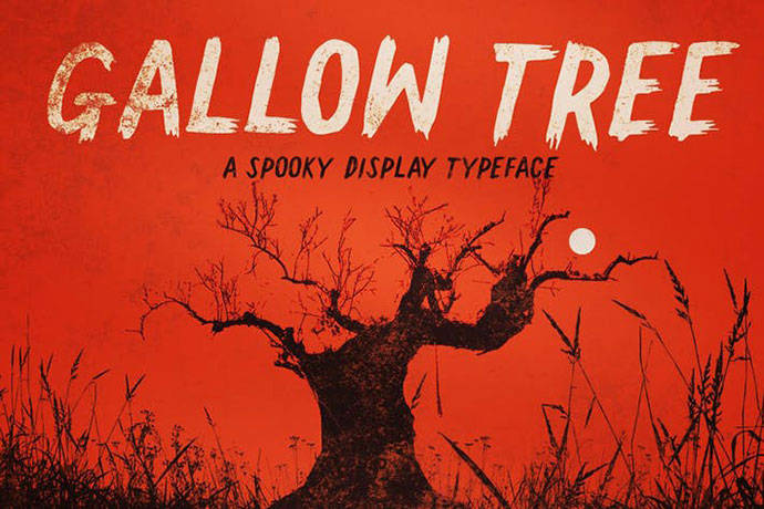 Gallow Tree font