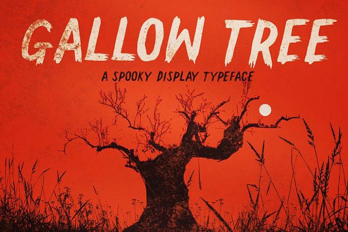 Gallow Tree font