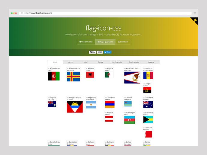 Flag Icon CSS