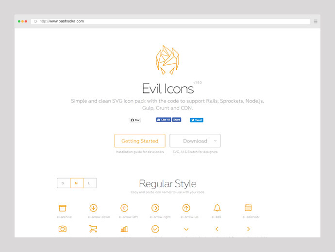 Evil Icons