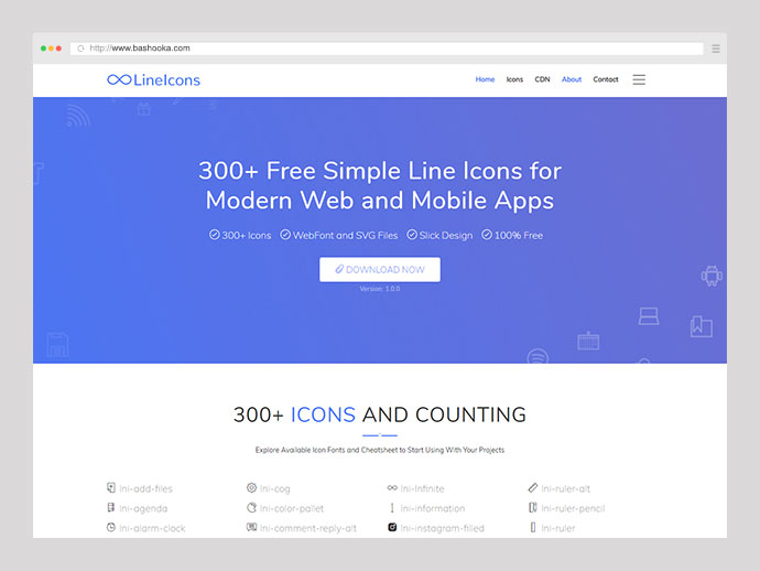 40 Free Icon Resources For Awesome Web & Mobile Designs – Bashooka