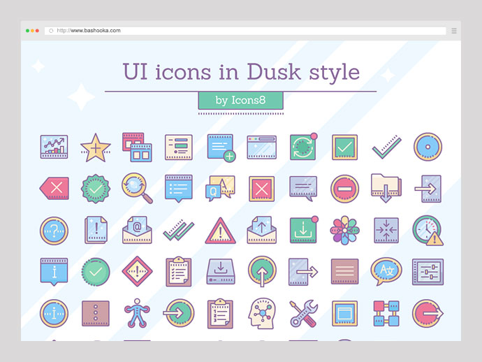 Dusk UI Icons