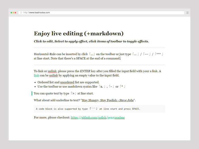 23 Awesome Javascript Rich-Text Editors – Bashooka