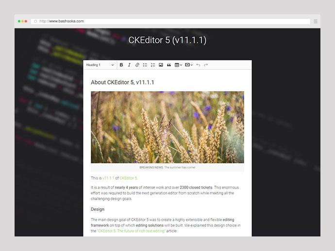 23 Awesome Javascript Rich-Text Editors – Bashooka
