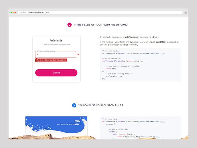 JS Form Validator