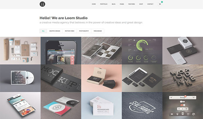 Loom - Multipurpose Responsive WordPress Theme