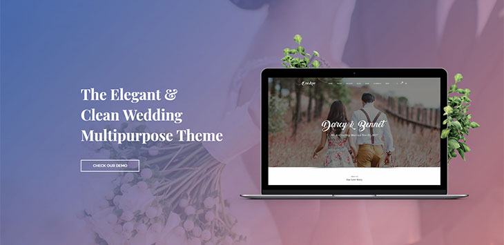 The Top 21 Wedding Invitation WordPress Themes
