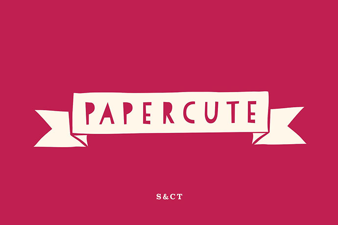 PaperCute Font Collection