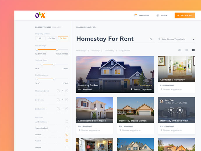 Weekend Exploration - OLX Website