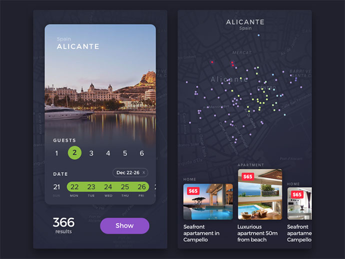 Apartment Renting App