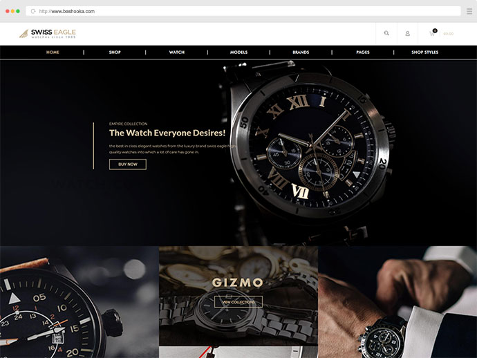 Swiss Eagle - WooCommerce Shop