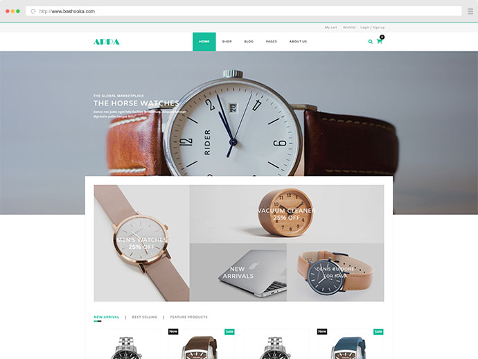 Appa - Electronics and Watches WooCommerce WordPress Theme