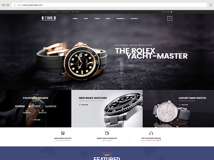 Fshow - WooCommerce Responsive WordPress Theme