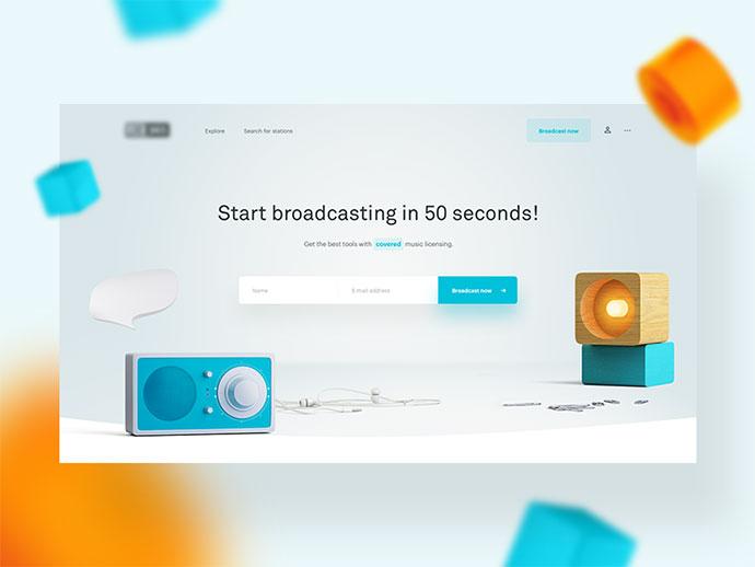 Internet broadcasting (WIP)