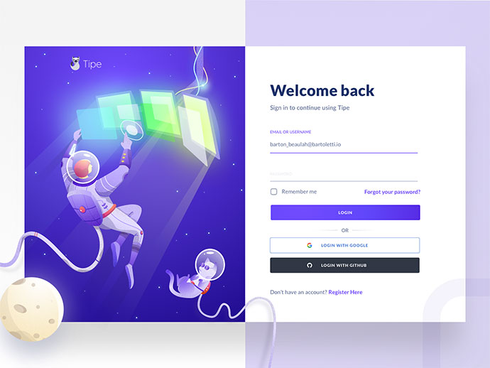 40 Interesting Examples For Web Form Design 2018 – Bashooka