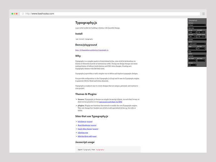 Typography.js