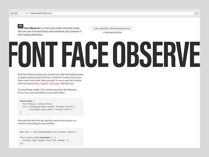 Font Face Observer