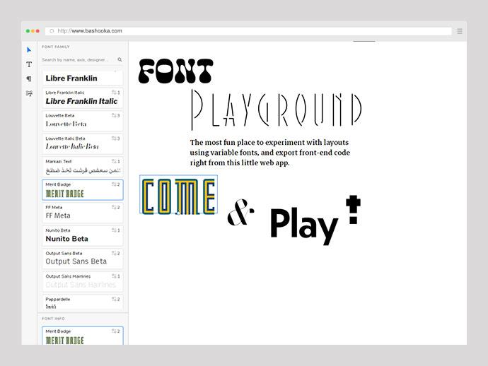 Font Playground