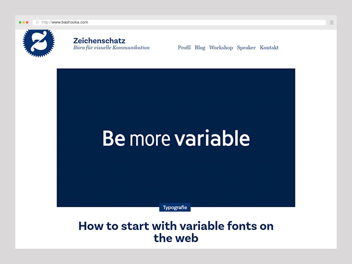 How to start with variable fonts on the web