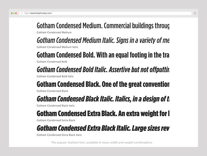 One File, Many Options: Using Variable Fonts on the Web