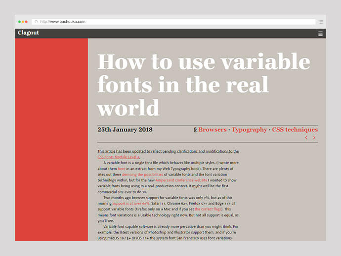 How to use variable fonts in the real world