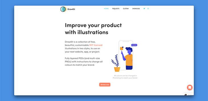 20+ Awesome Free Illustration Websites