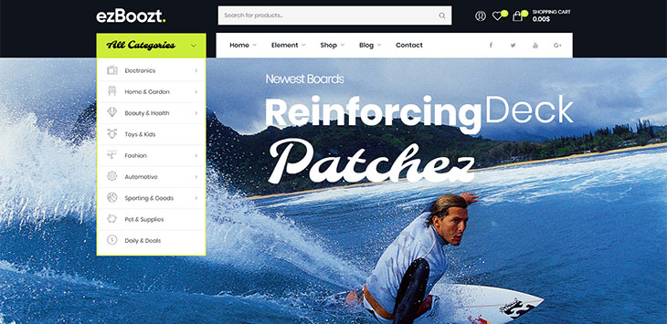 15+ Best WordPress Themes For Surfing Website