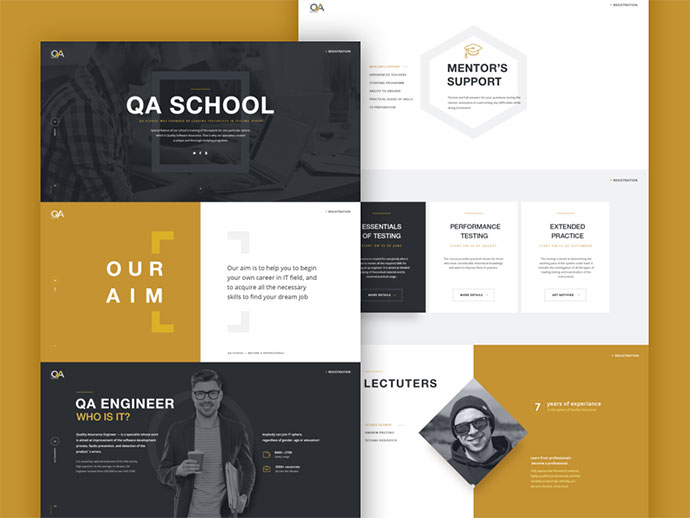 Qaschool Website
