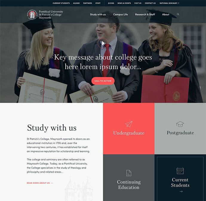 St. Patricks College Maynooth Homepage
