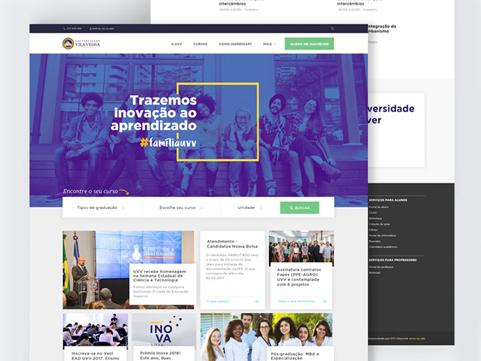 45 Education Web Ui Design Examples Bashooka