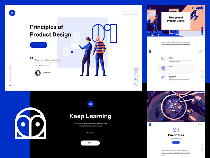 InVision - Design Education Web Portal