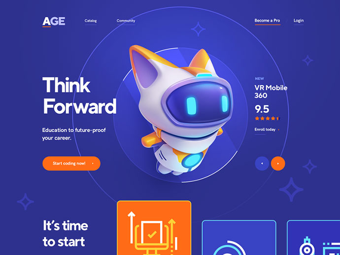AGE / Online courses