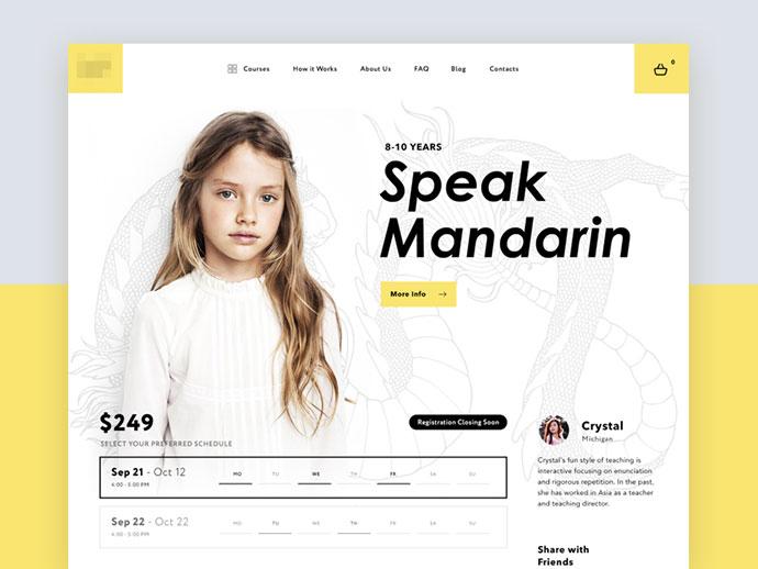 Web education platform
