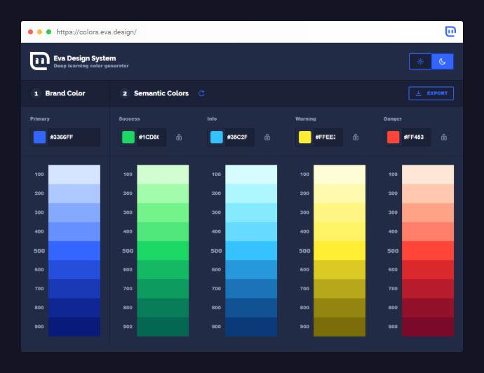 Eva Colors