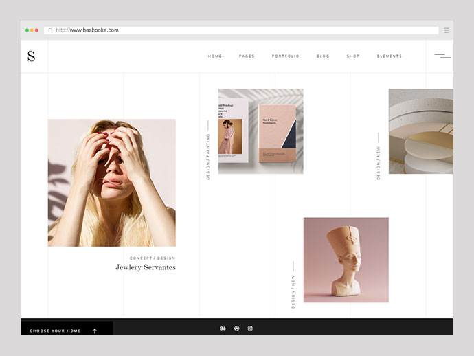 Sahel - An Elegant Multi-Concept Theme