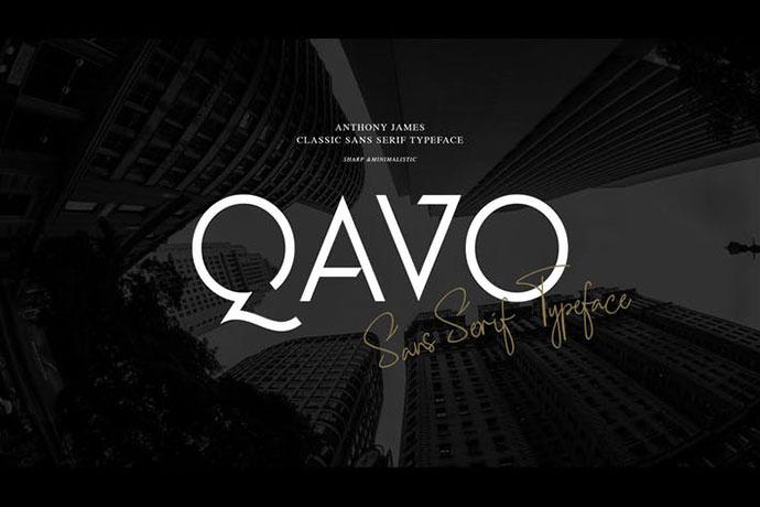 QAVO FONT